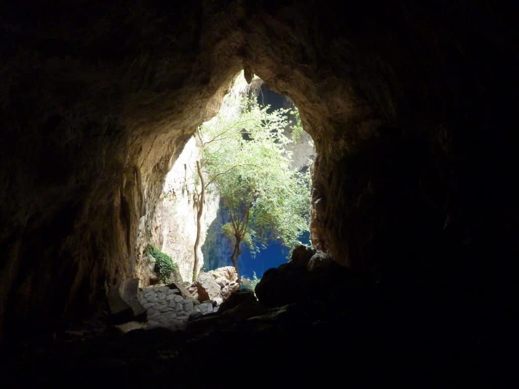 Höhle im Chinhoyi Caves National Park