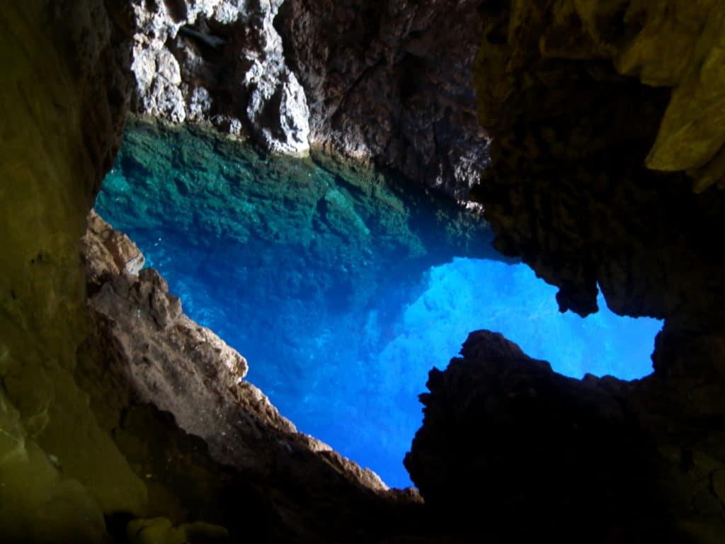 Dark Cave im Chinhoyi Caves National Park