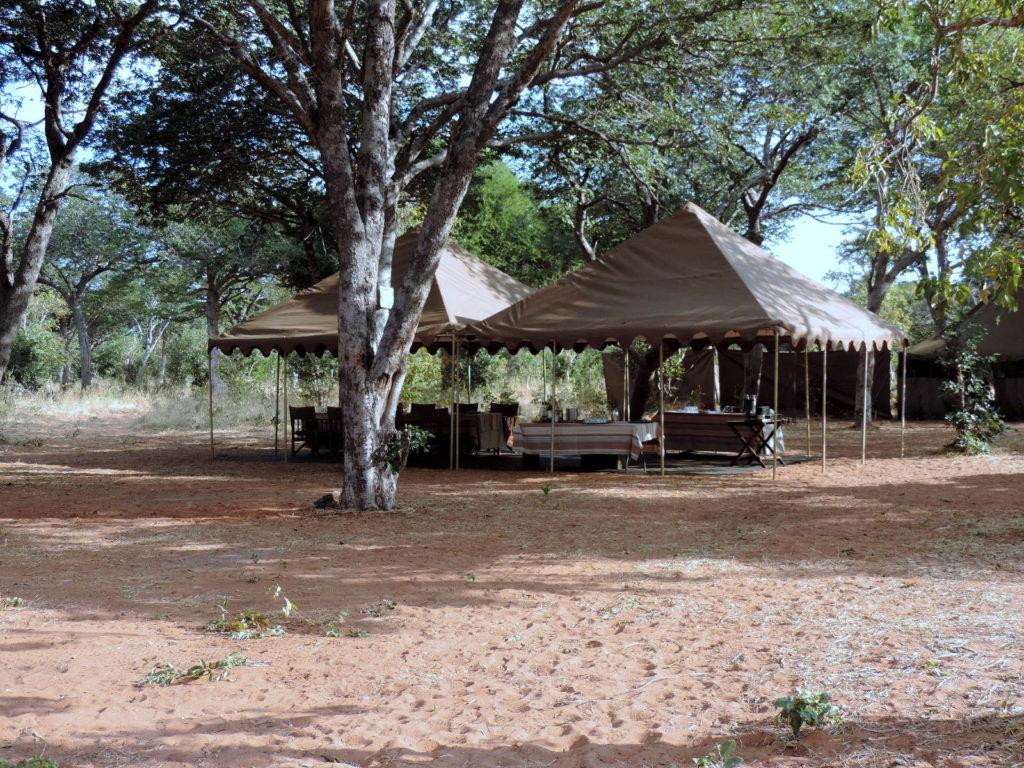 Lodge im Chobe Nationalpark