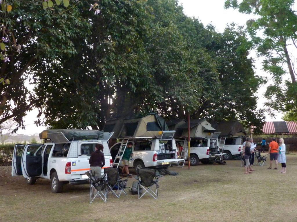 Campingplatz Fringilla Lodge