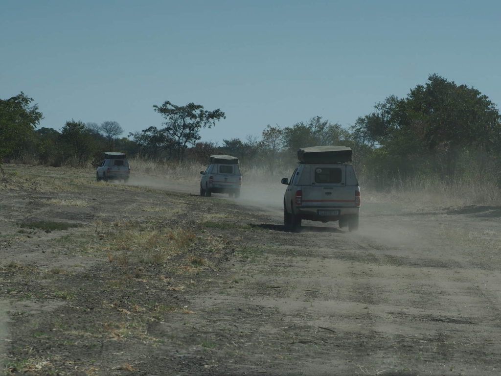 Hunter's Road mit 4x4 in Botswana