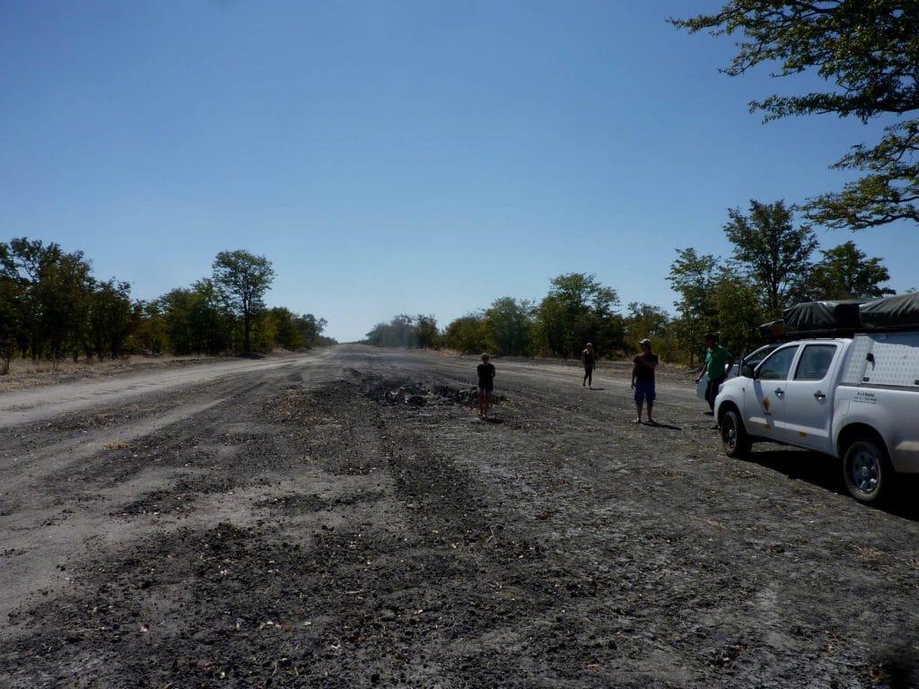 Hunter's Road in Botswana
