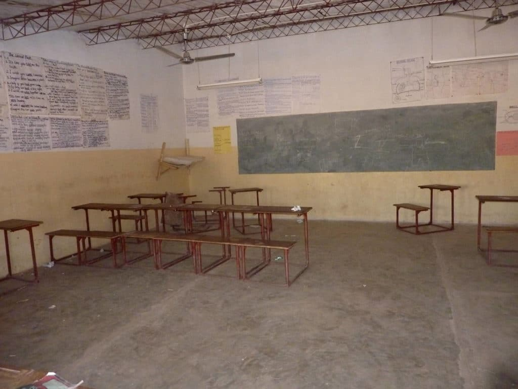 Schule in Sambia