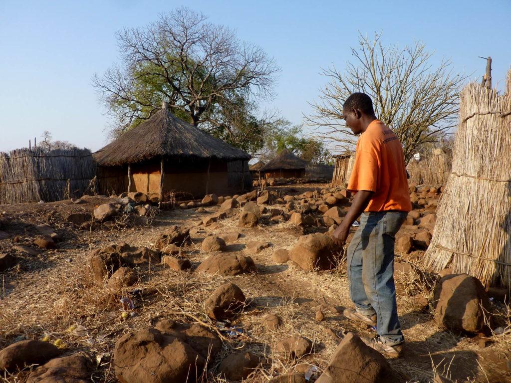 Führung Dorf in Sambia