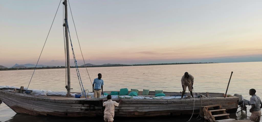 Boot auf Malawisee