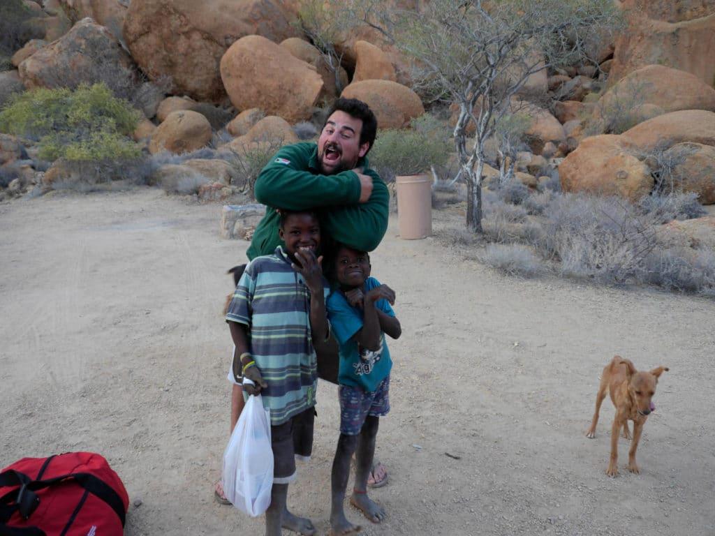 Kinder in Namibia