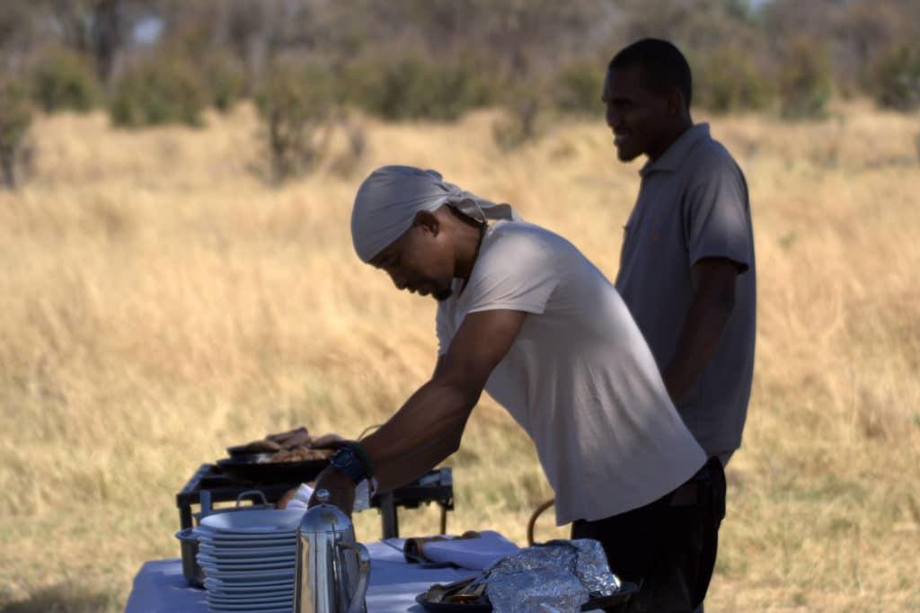 Trinkgeld auf Safari, Botswana