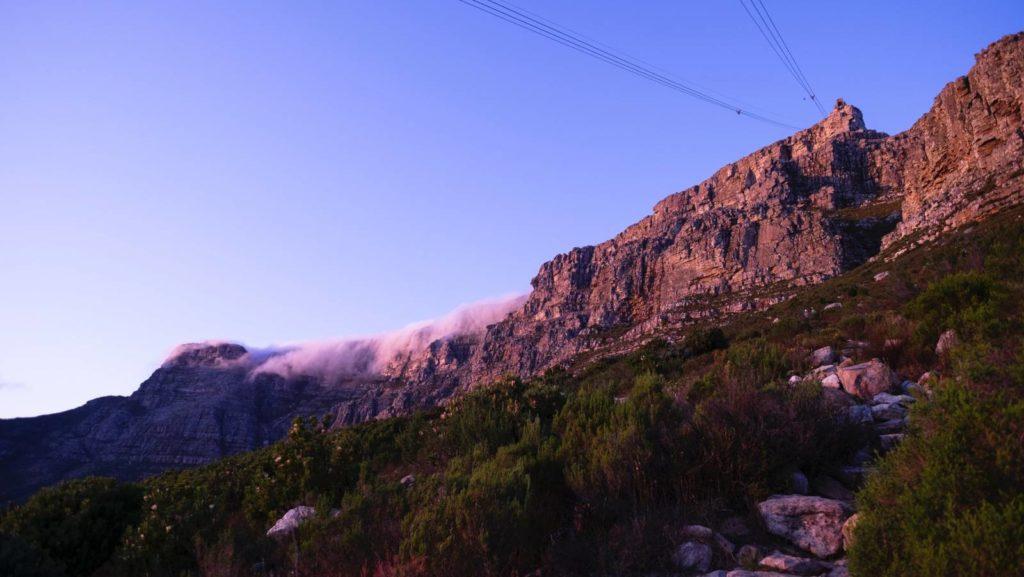 Tafelberg im Nebel