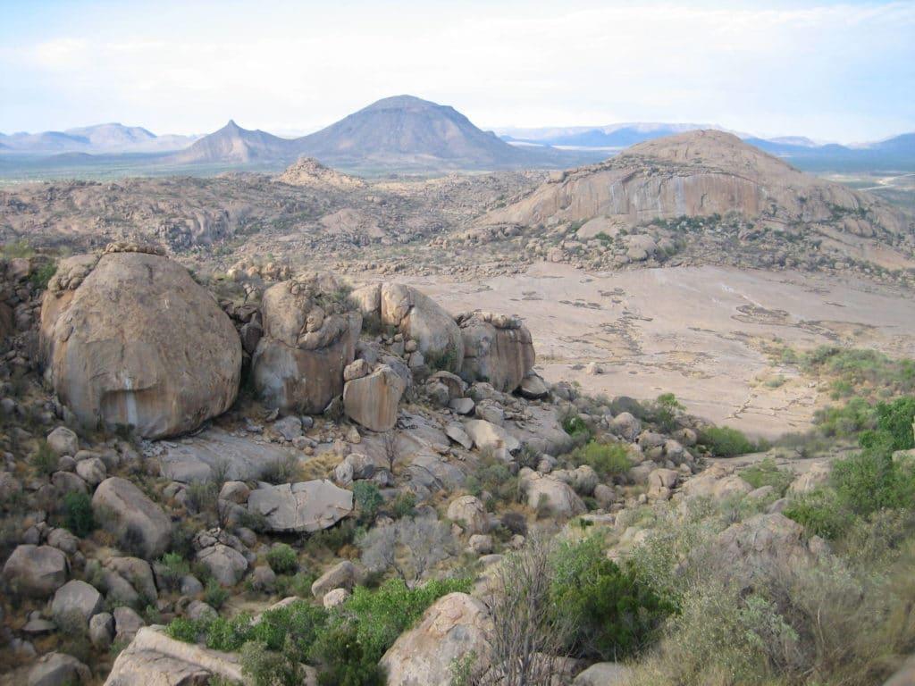 Aussicht Erongogebirge Namibia