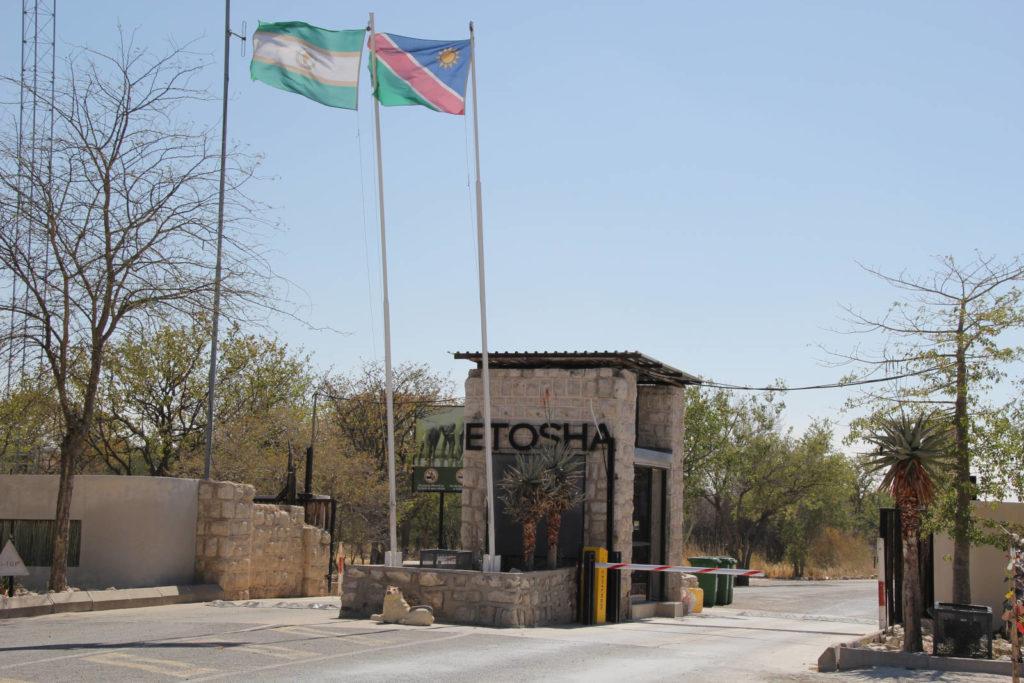 Eingang Etosha Nationalpark